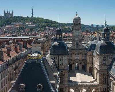 Partir à                                                           Lyon